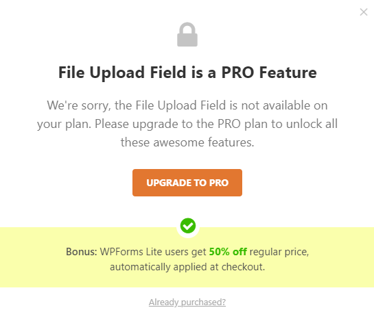 File Upload Feature