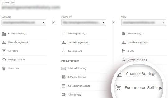 ecommerce-settings