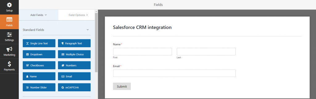 WPForms Integration