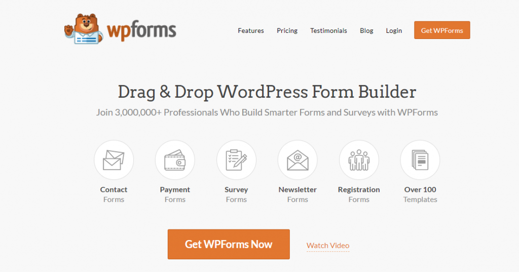 WPForms best survey software