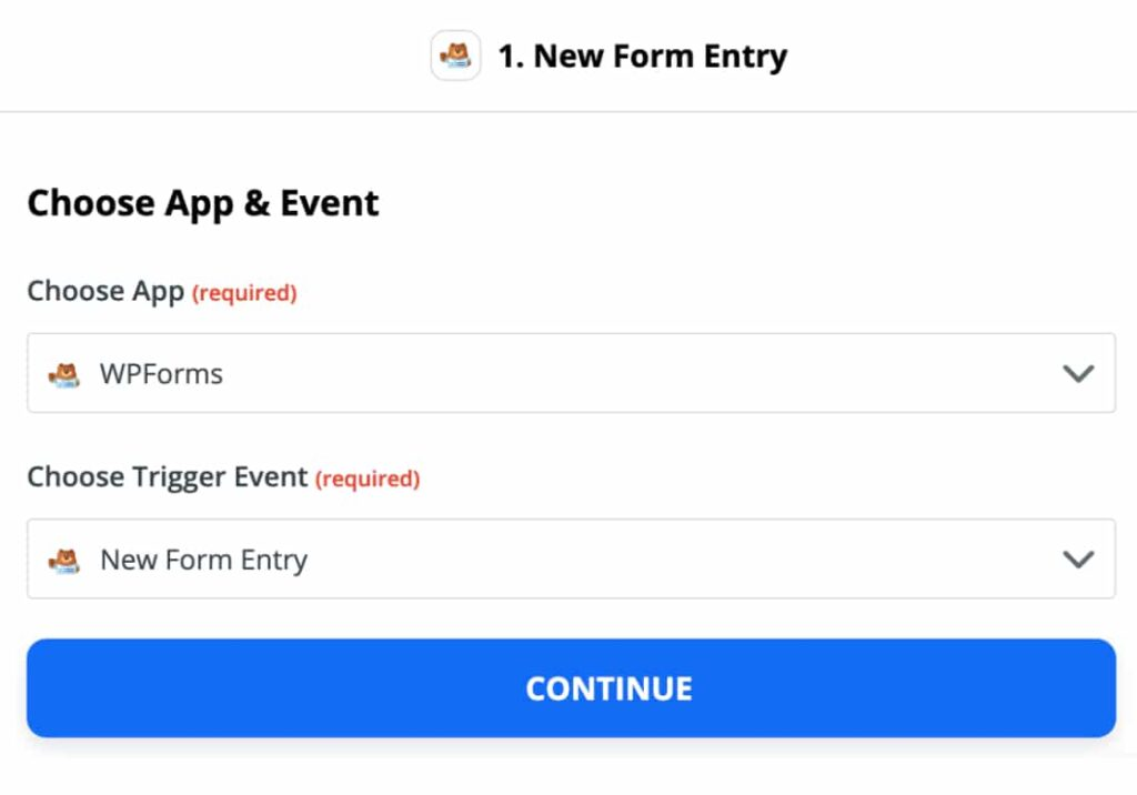 Trigger-options-for-WPForms-in-Zapier